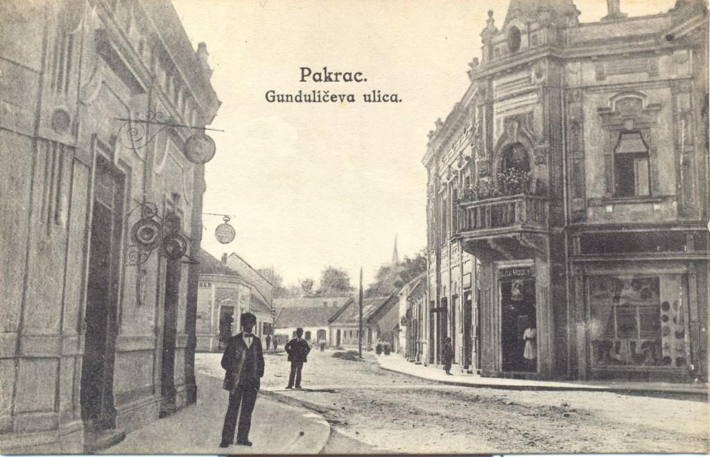 gunduliceva-ulica-danasnja-ulica-brace-radica-pakrac1918-foto-simic-zagreb-1918