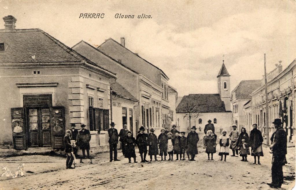pakrac-glavna-ulica-danasnja-ulica-gojka-suska-1908