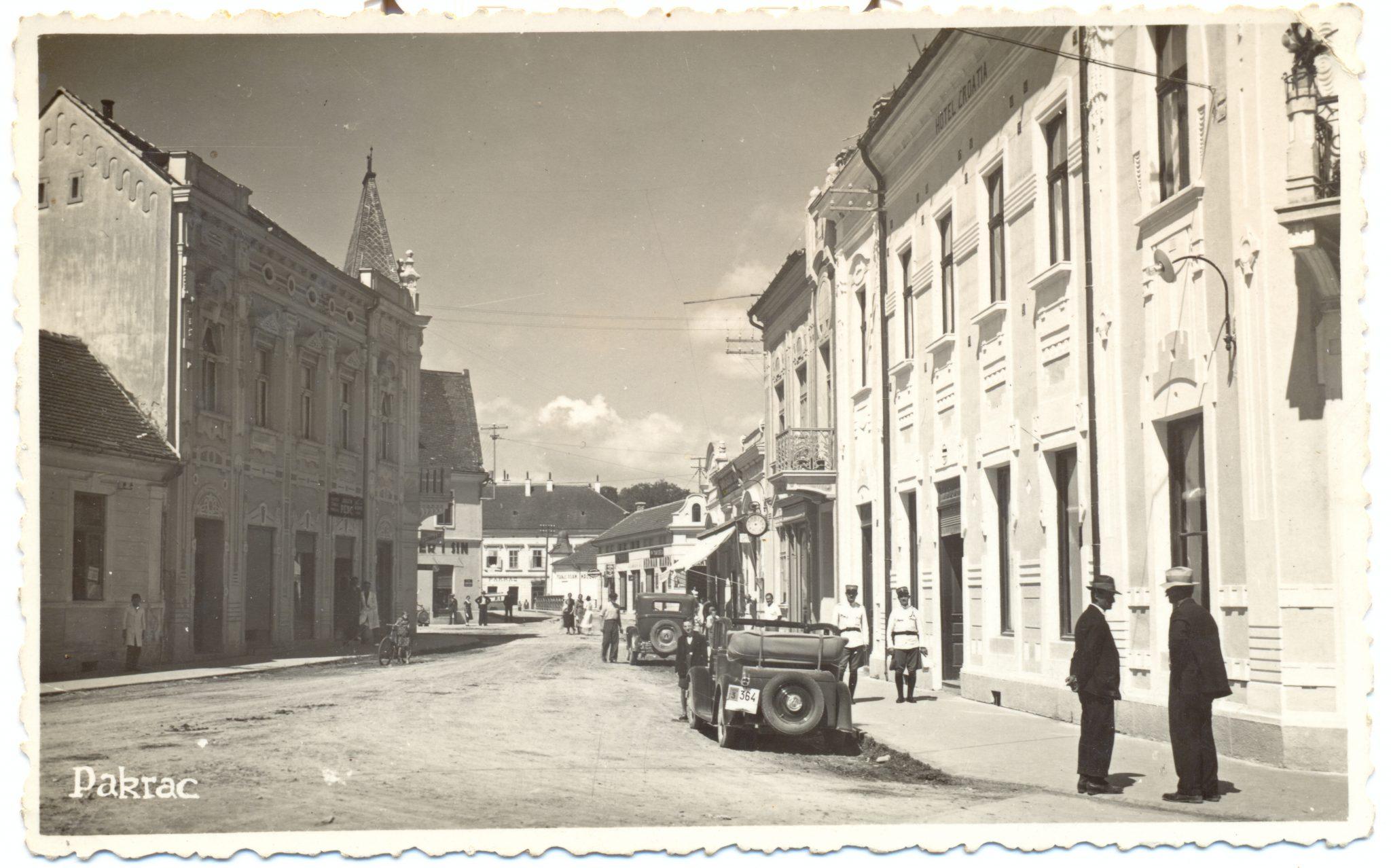 Današnja ulica Braće Radić - 1938.