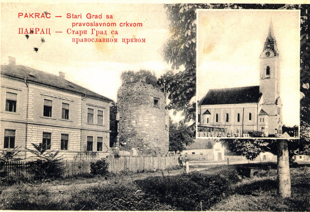 stari-grad-pakrac-i-crkva-sv-trojice-pakrac-1910