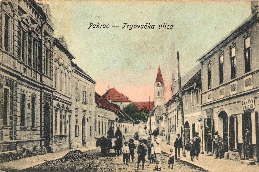 trgovacka-ulica-danasnja-ulica-gojka-suska-pakrac-1914