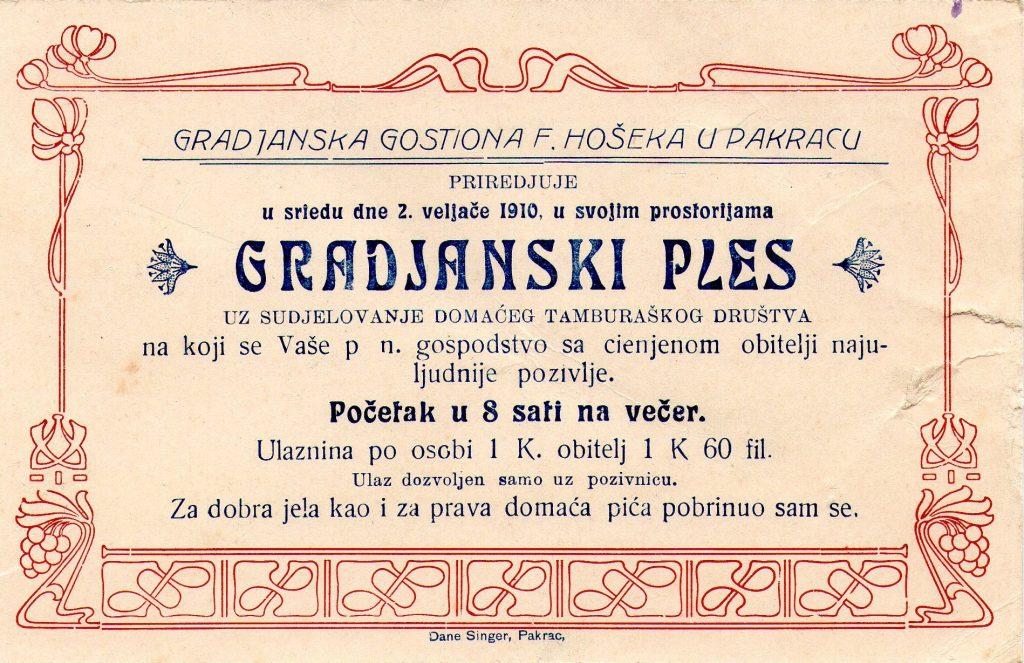 pozivnica-za-gradjanski-ples-u-gostioni-franje-hosekatiskara-dane-singera-pakrac-1910-105×165