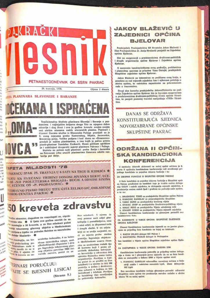 20 travnja 1978