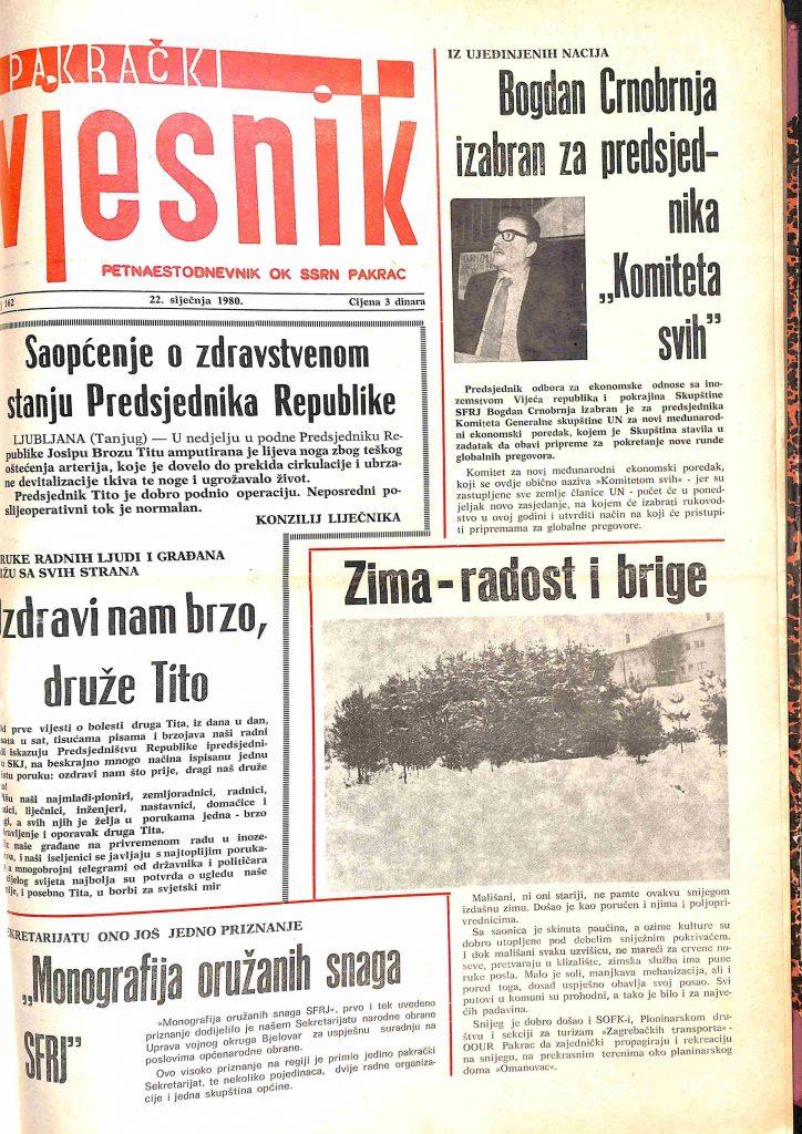 22 siječnja 1980