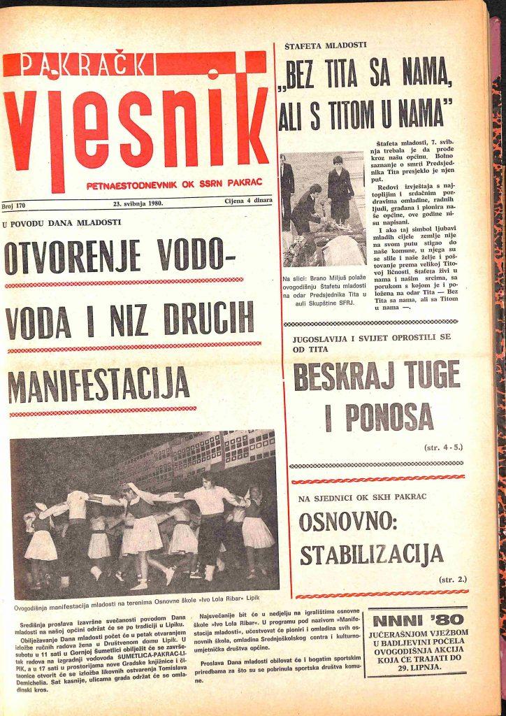 23 svibnja 1980