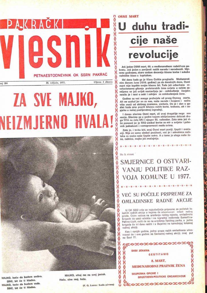 28 veljače 1977