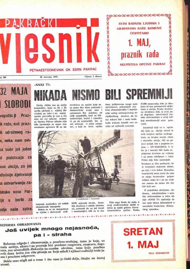 30 travnja 1977