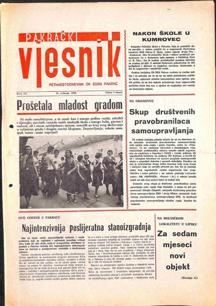 31 svibnja 1978