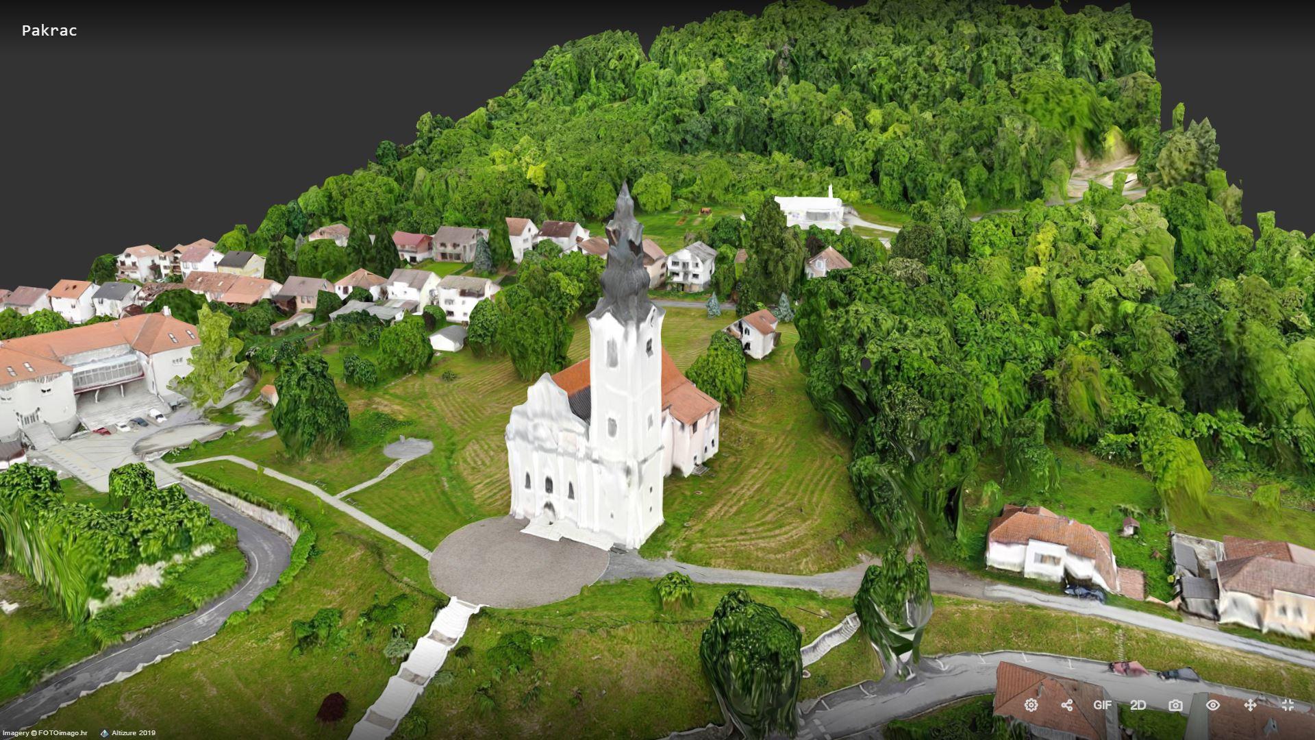 Crkva UBDM Pakrac